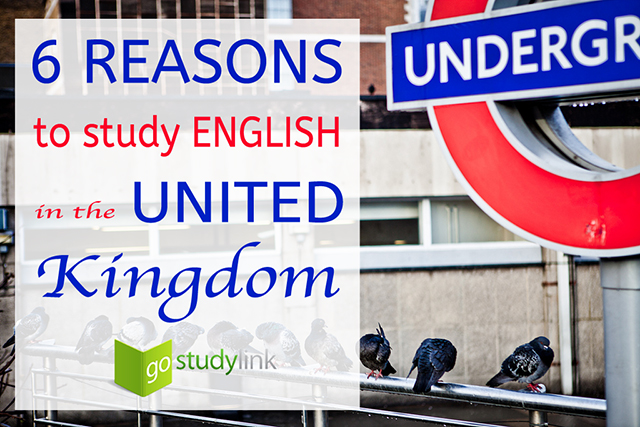 why study English in the UK