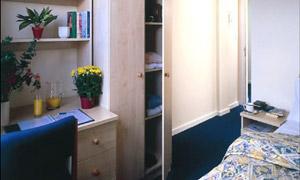 Tripos bedroom